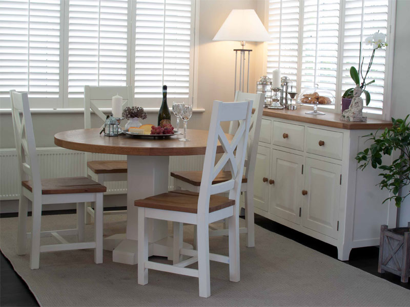 Chamount Dining Table and Chairs Round Set Main
